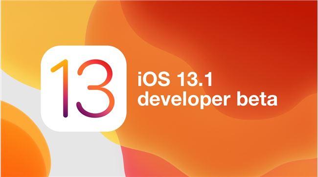 苹果发布 iOS 13.1 / iPadOS 13.1 开发者预览版 Beta 4 更新