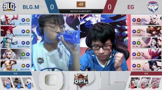 2019OPL秋季赛:EG3-2险胜BLG.M,LUX3-0零封GH