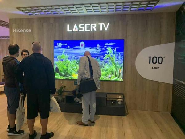 激光电视欲与液晶电视在75英寸激战 壮大还需差异化应用场景
