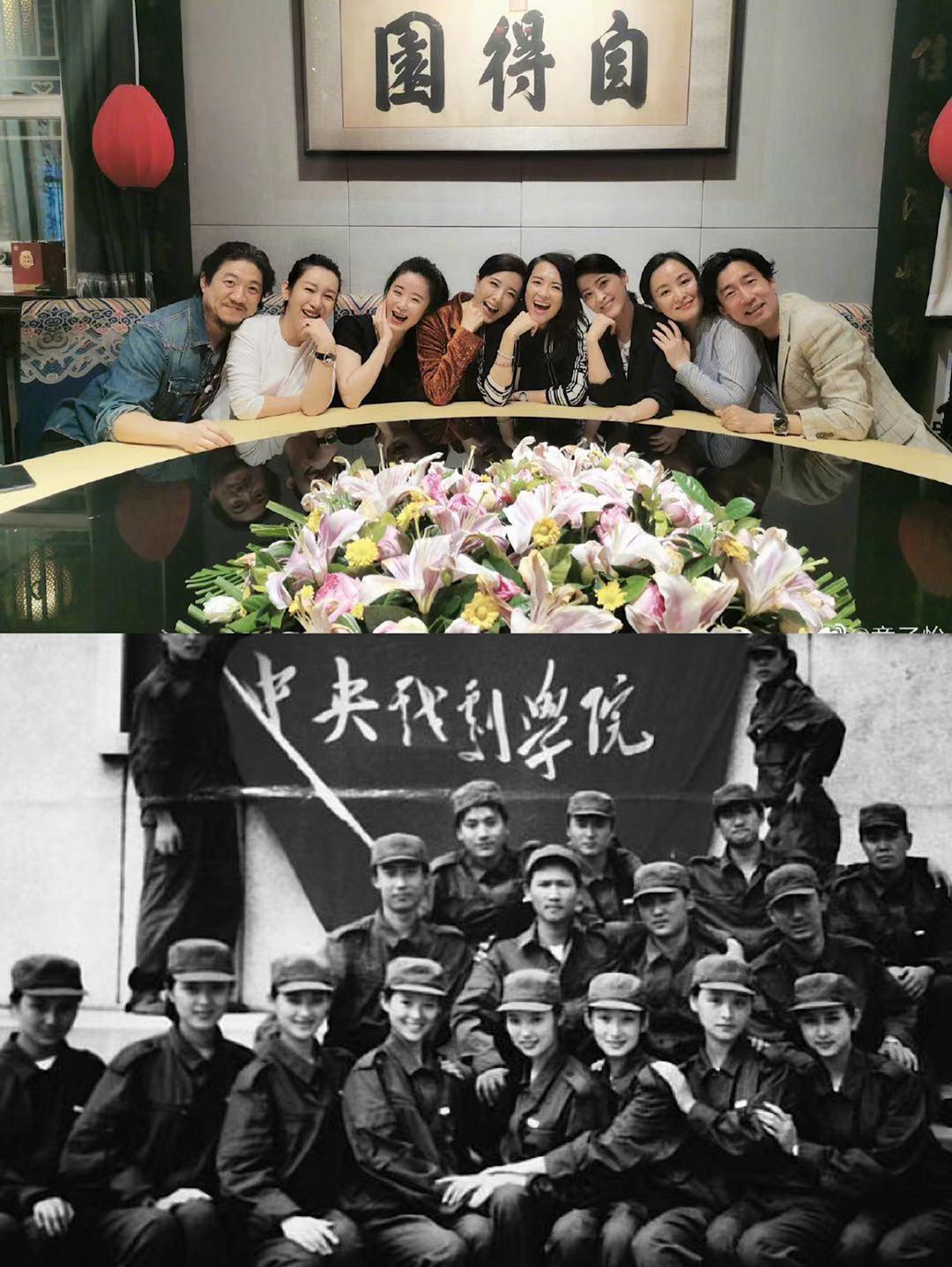 十大当红明星大学毕业照对比,杨紫、李现和李易峰基本上没变化