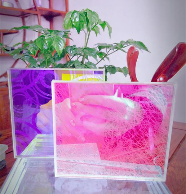 炫彩夹丝玻璃