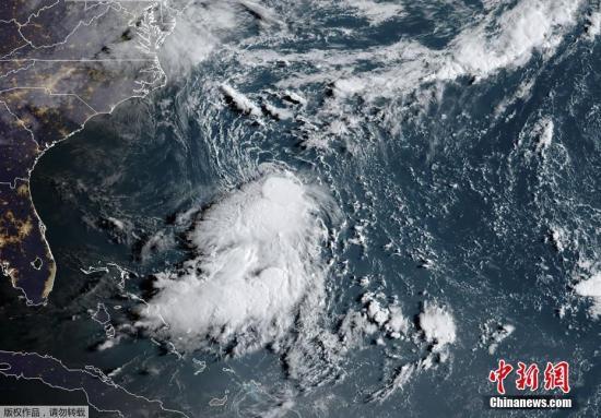 热带风暴伊梅尔达袭美得州 带来雷暴与洪水威胁