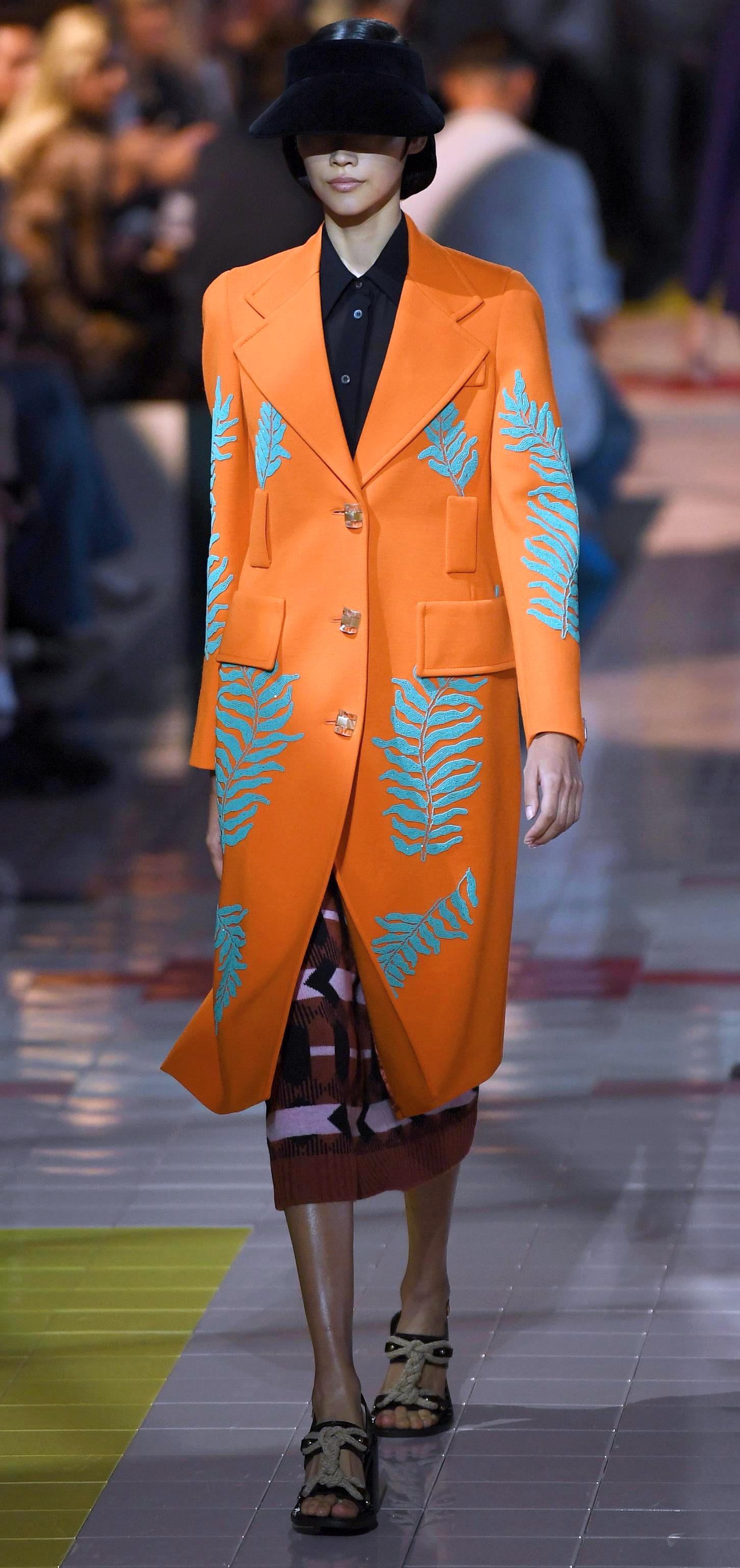 米兰时装周——普拉达品牌时装秀