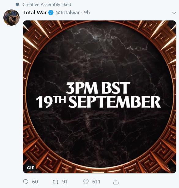 《全面战争传奇:特洛伊》有望在今晚10点正式公布