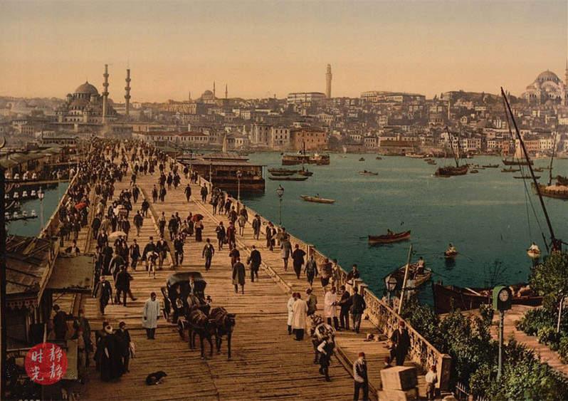 老照片:百年前奥斯曼帝国的首都,感受那时的异国风情
