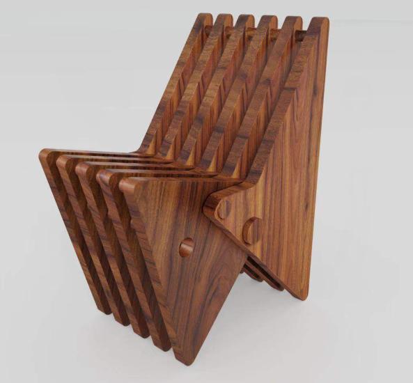"""创意家居来袭!山东大学生设计的""""旋转变形椅""""专利"""