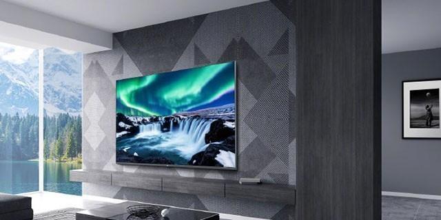 小米全面屏电视Pro渲染图公布:金属外观 铝合金底座