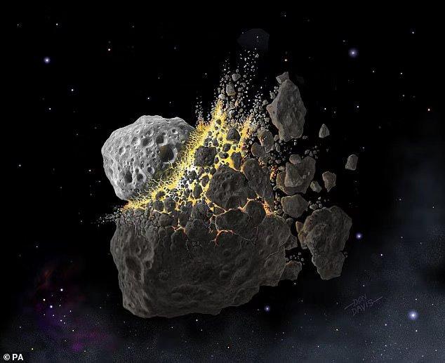 4.6亿年前地球冰冻和生物种类大年夜迸发之谜:本来是小行星大年夜爆炸