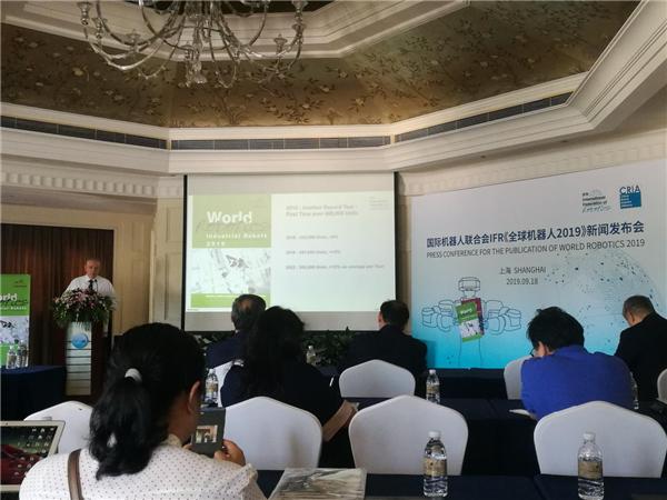 2018年中国市场工业机器人销量出现首次下滑