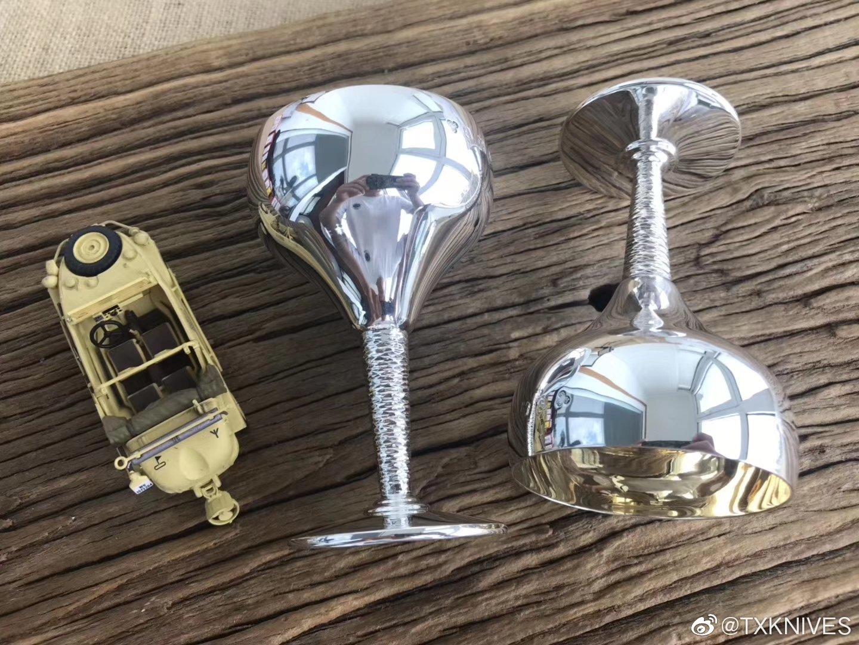 1972年英国伯明翰纯银酒杯