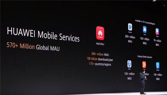 支持Android但没有预装谷歌生态服务 华为Mate 30系列以HMS替代