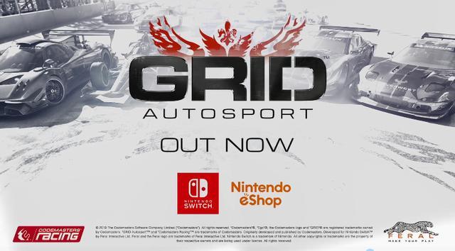 《超级房车赛》正式登陆NS平台游戏支持中文