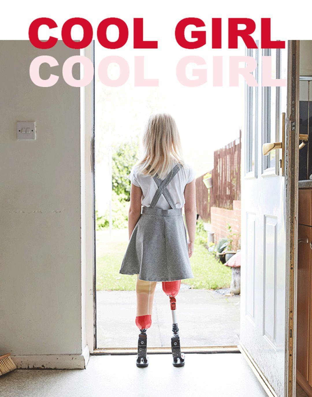失去双腿却惊艳纽约时装周,这位9岁少女告诉我们:IAMFEARLESS