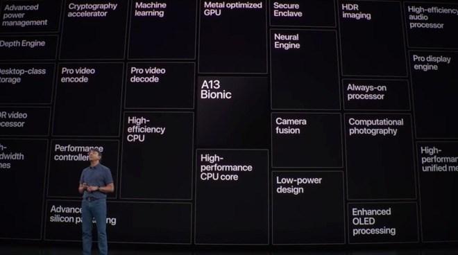 苹果高管:A13处理器芯片设计更注重能效比