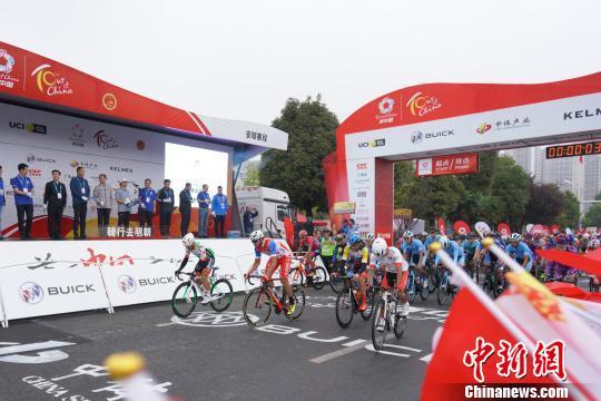 2019环中国国际公路自行车赛转战贵州安顺