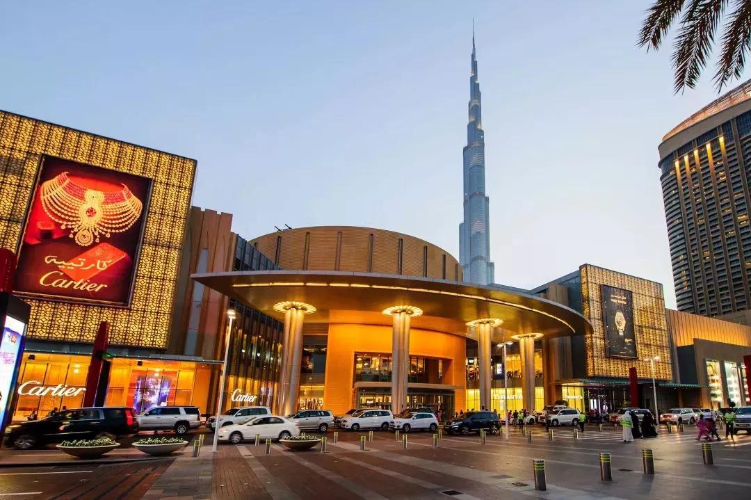 在迪拜,不是只有迪拜Mall!!!
