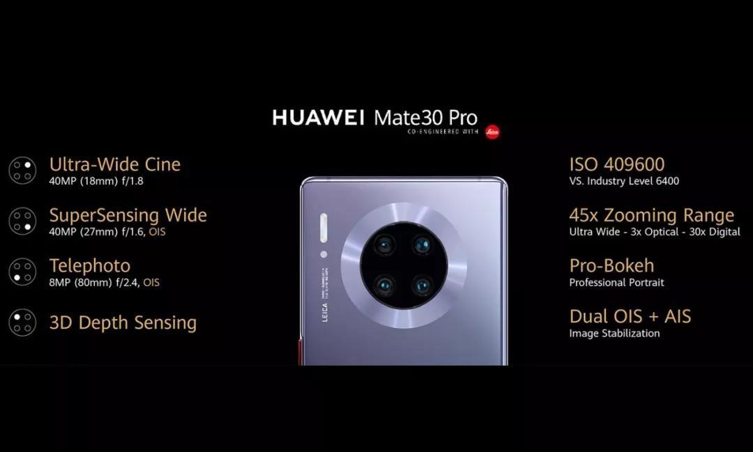 """华为Mate30""""硬刚""""苹果,谁能制霸手机江湖?"""