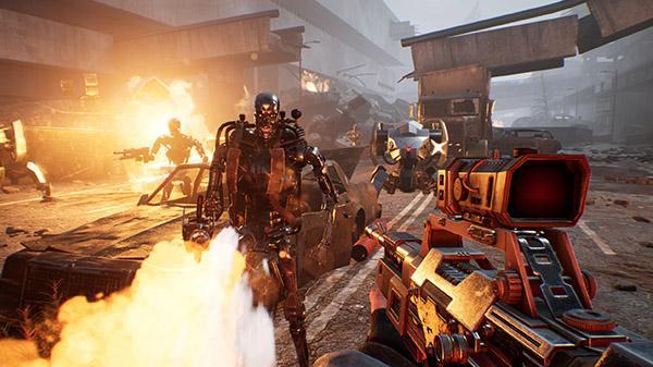 《终结者:反抗军》面向PS4/XboxOne/PC平台公布