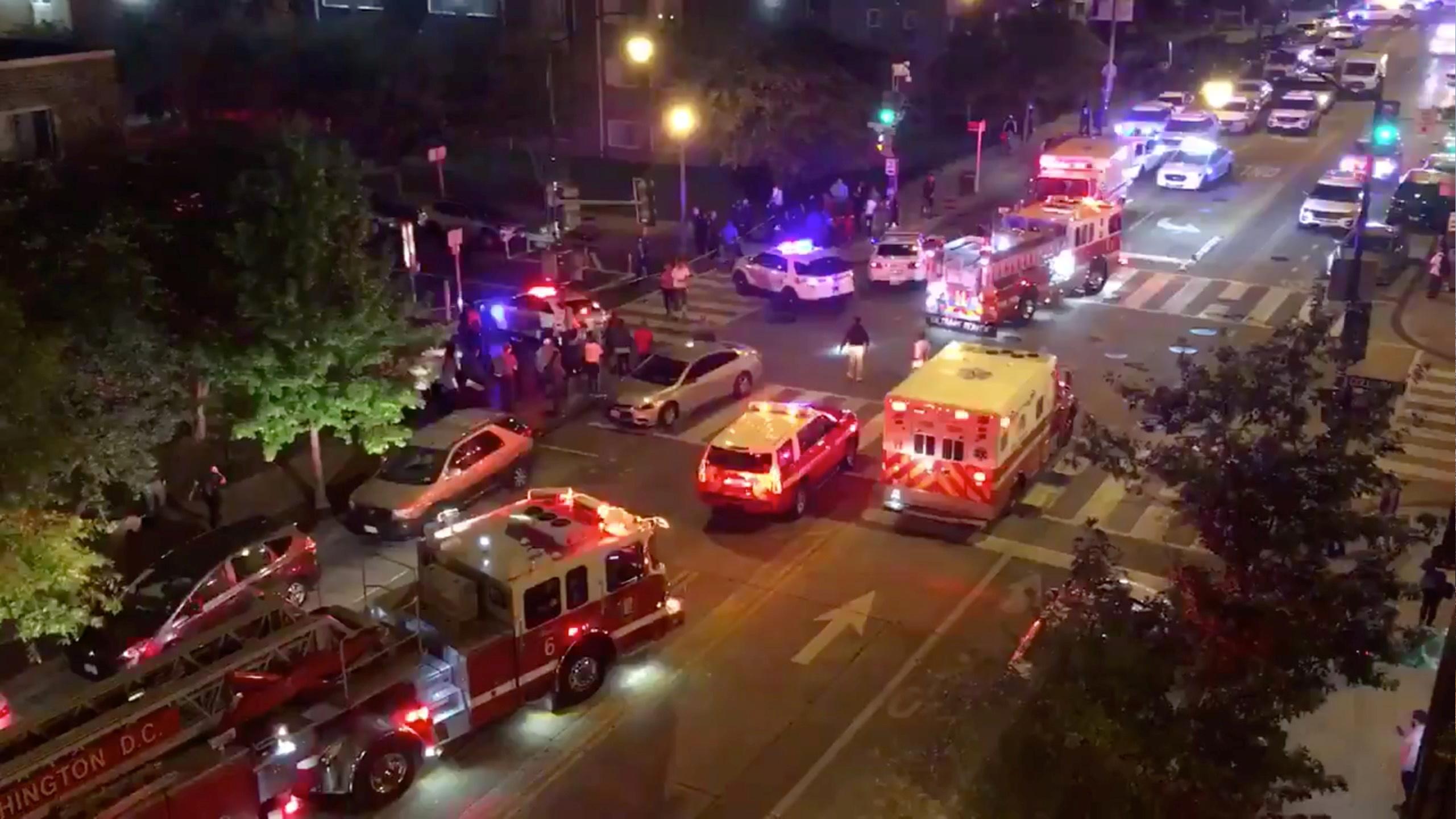 美国首都华盛顿发生枪击事件