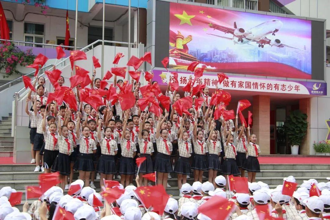 南宁人的硬核表白:五星红旗,你是我的骄傲!图片