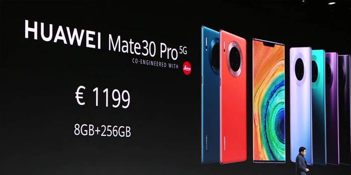 华为 Mate 30 系列发布,拥有 5G + 最强四摄的国产机皇