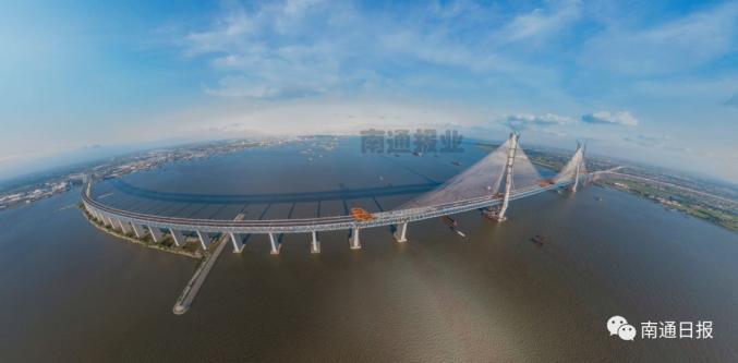 沪通长江大桥合龙,预计2020年下半年通车