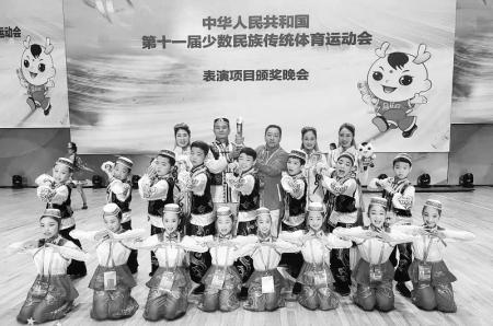 翼城花鼓收获全国民族传统体育运动会一等奖