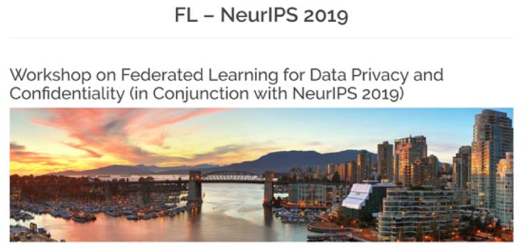 从IJCAI 2019到NeurIPS 2019,联邦学习将再次亮相国际AI顶会