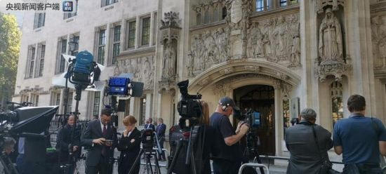 英国首相休议会是否合法下周裁决 但别太乐观
