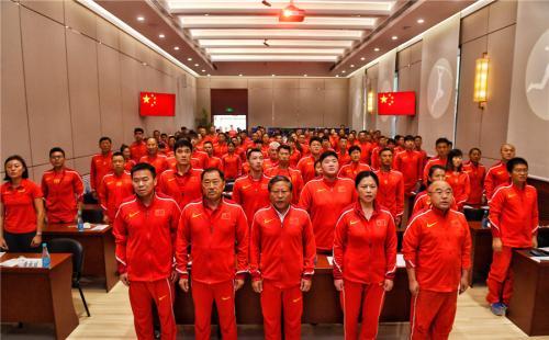 <b>62名运动员117人代表团 中国田径队历史最大规模出征世锦赛</b>