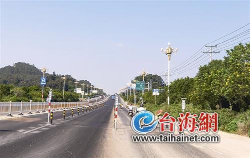 古港村路口减速整改工程基本完成