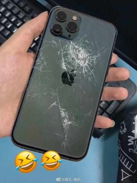 最硬玻璃也拦不住:多部苹果iPhone11Pro已碎