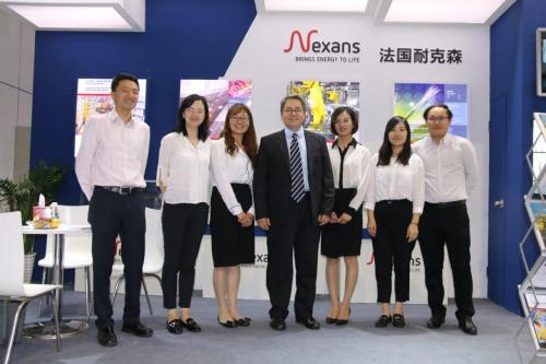 耐克森亮相2019中國國際工業博覽會