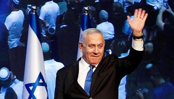 蓝白党领跑以色列议会选举:可组联合政府,但内塔尼亚胡不能当总理