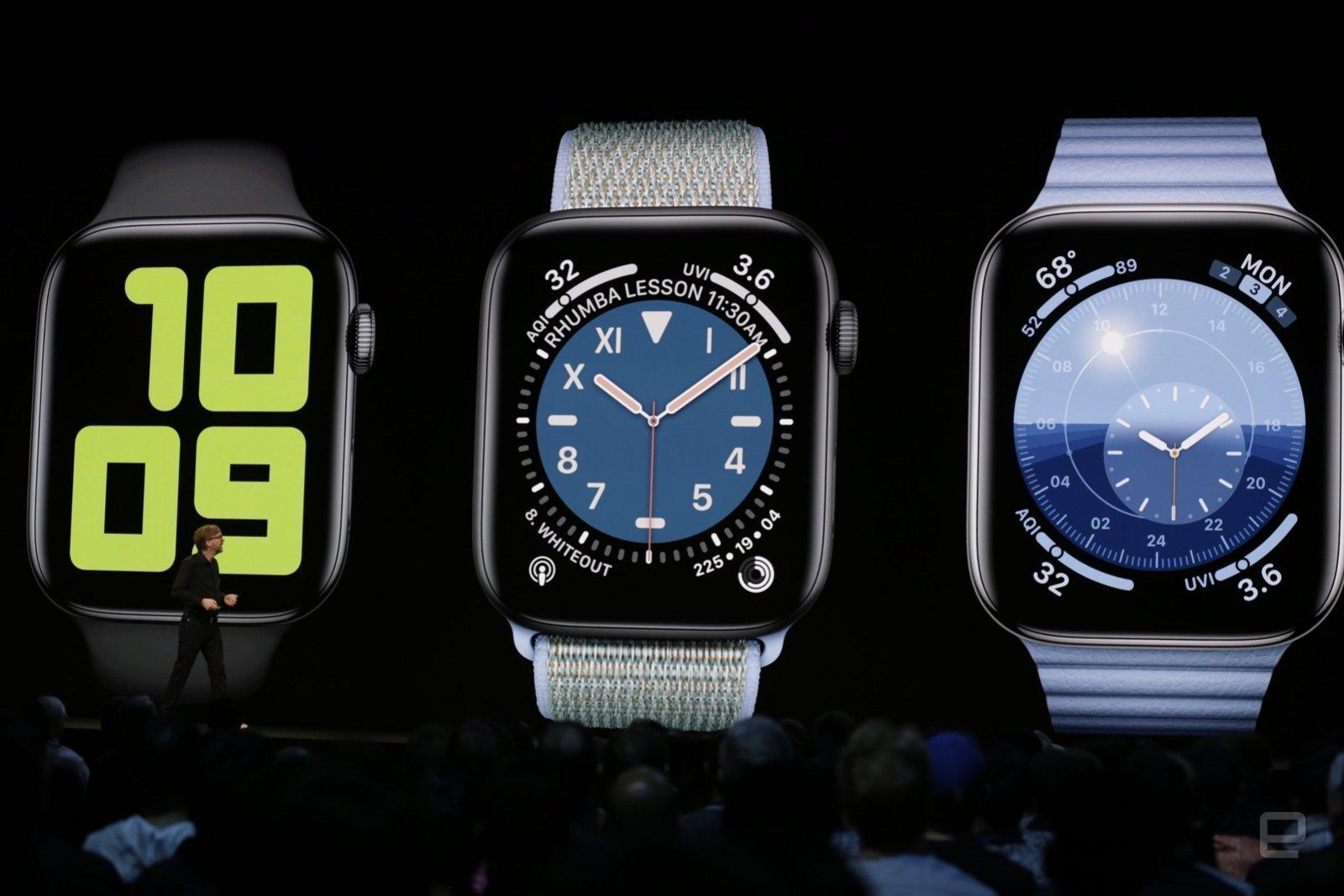 苹果 watchOS 6 正式版发布