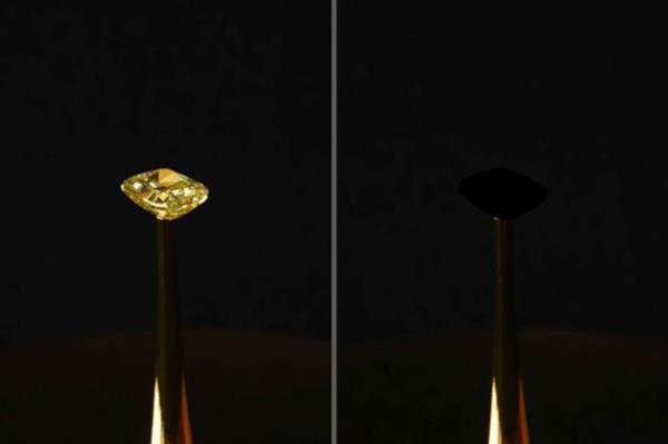 史上最黑物质被造出来了 能吸收99.995%的入射光