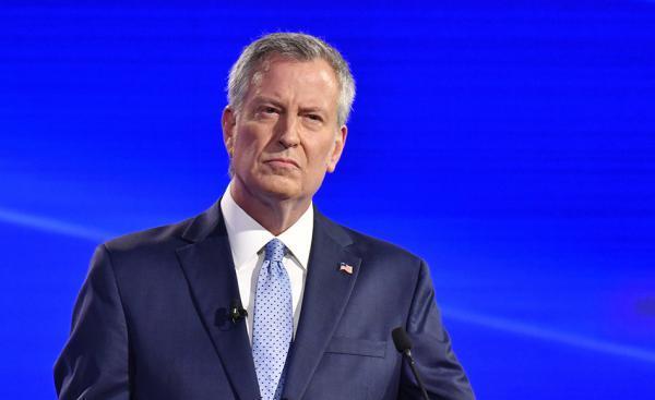 纽约市长白思豪宣布退出美国2020年总统大选