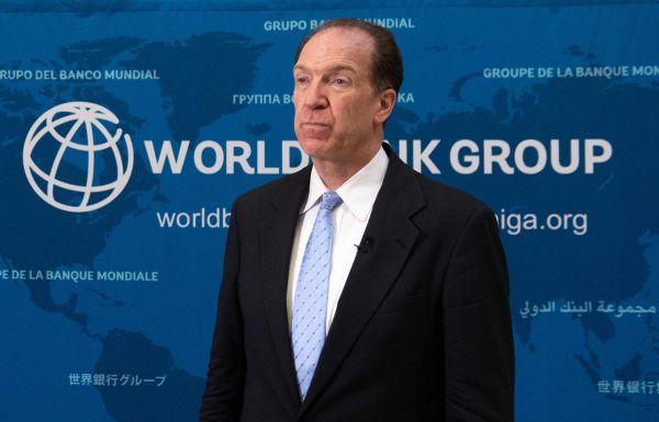 世行行长:全球经济增长将大幅放缓