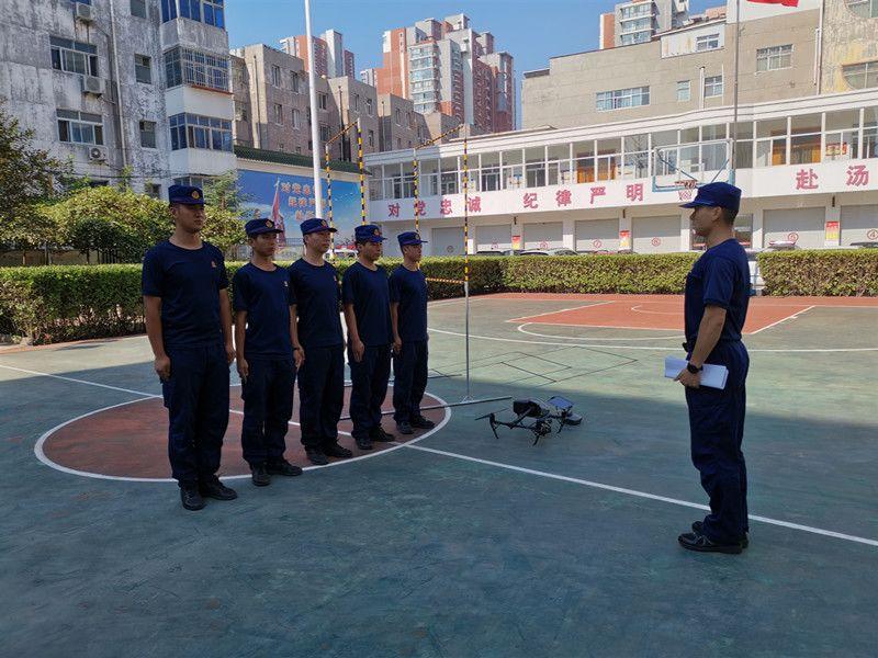 衡水消防支队扎实开展应急通信比武操法训练
