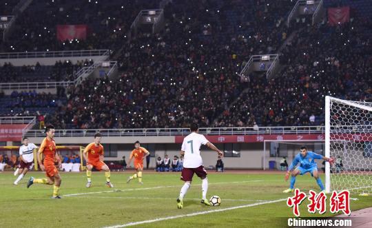 中国国奥男足将在重庆万州迎战三国U-22男足