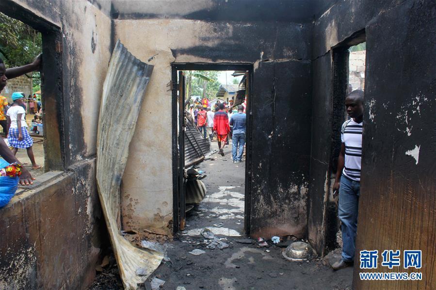 利比里亚一学校遭遇火灾致29人死亡