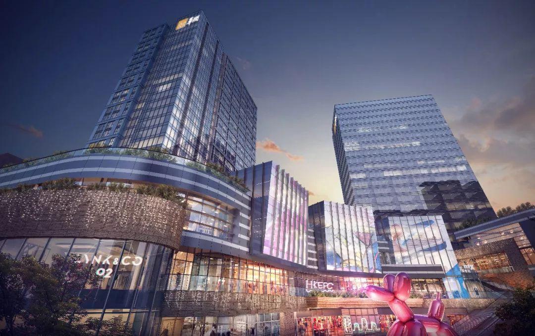 桂林这座高端大气上档次的商场开业在即 周边楼盘沾光了