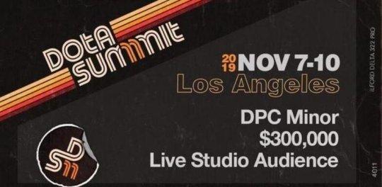 DOTA2新赛季揭幕战定档洛杉矶!巅峰联赛Minor在11月举办