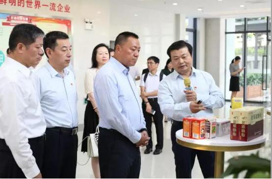 广药董事长李楚源带队欢迎澳门经济财政司司长梁维特到广药集团调研考察