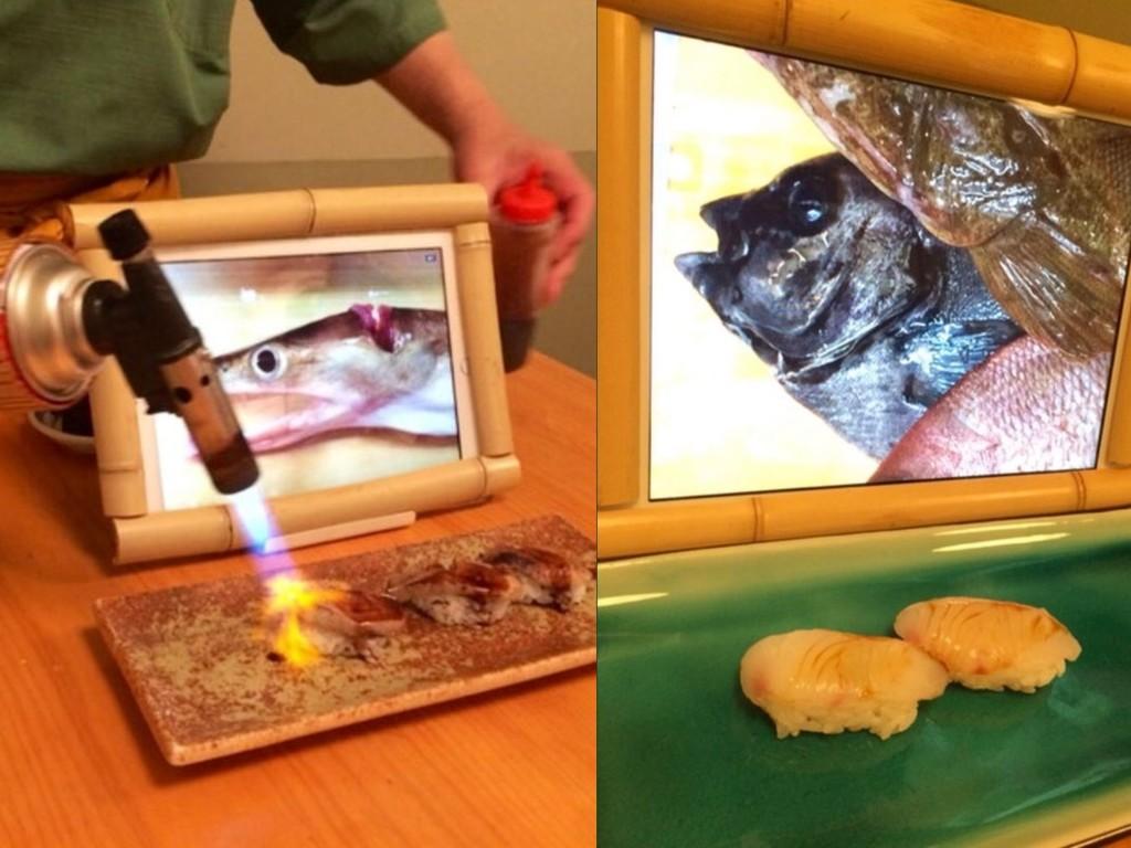 吃刺身前要望活鱼死前样貌?日本鱼生店用iPad 向客人展示「遗照」