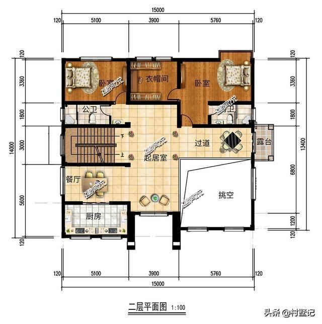 建房说4套农村豪华别墅,欧式风格_设计图