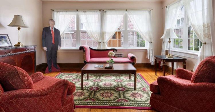 特朗普儿时住宅又要拍卖!曾被华裔女性高价买走