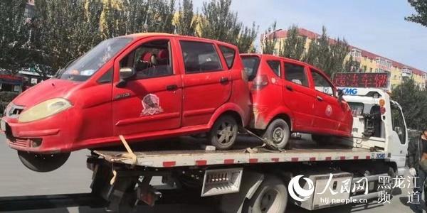 哈尔滨市交警部门开展快递、外卖车辆交通违法专项整治行动