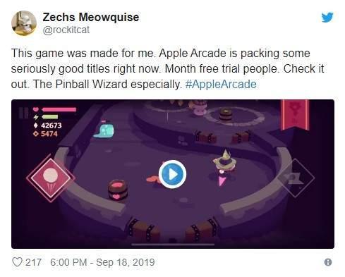 苹果AppleArcade游戏订阅服务上线玩家反馈非常积极
