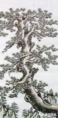 北派松树法   南派松树法   松树象徵人类之君子风度与长寿.